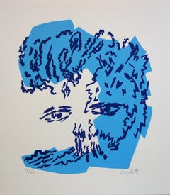 The Philosopher Nietzsche - Original Handsigned Screen Print /60ex
