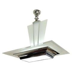 Jean Damon Art Deco Ceiling Lamp