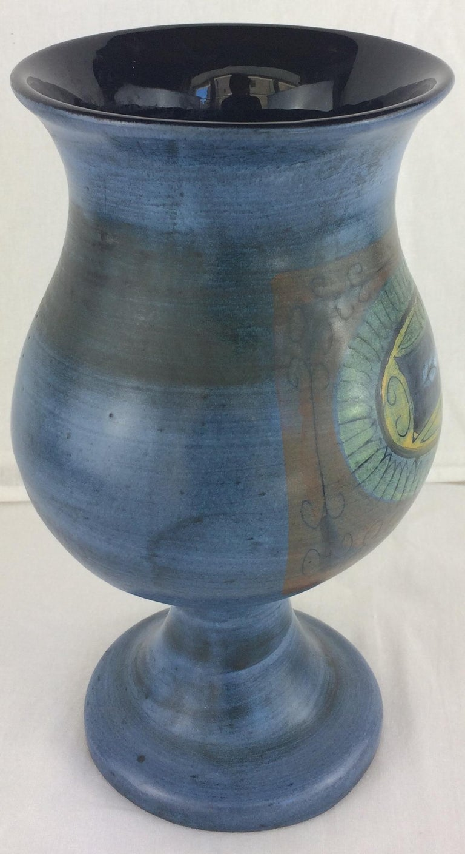 French Jean de Lespinasse Midcentury Ceramic Vase For Sale