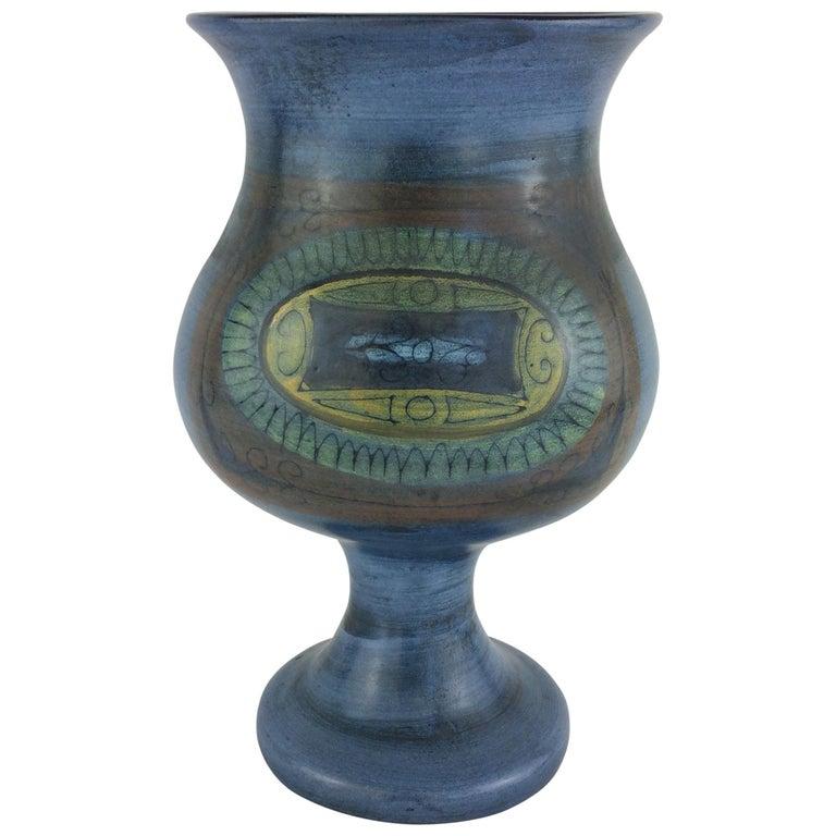 Jean de Lespinasse Midcentury Ceramic Vase For Sale