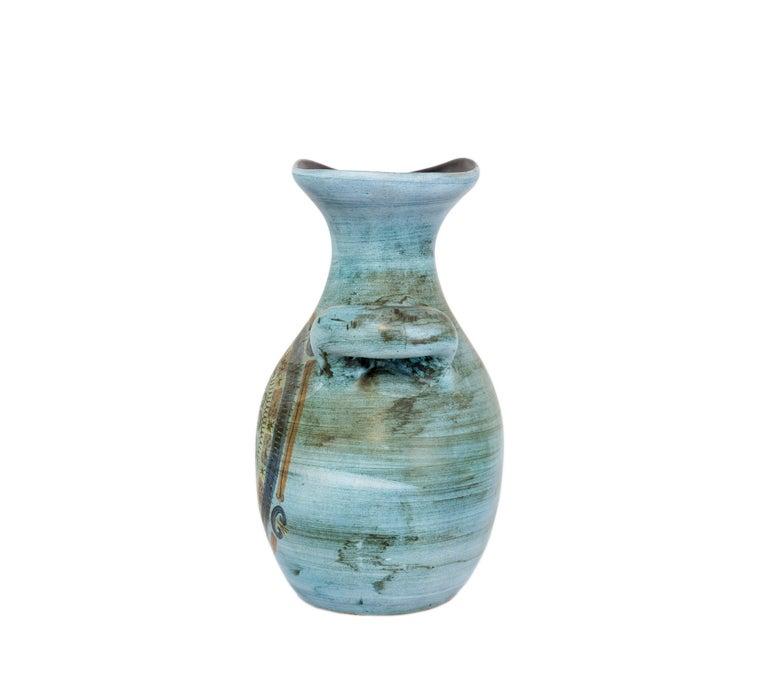 Mid-Century Modern Jean de Lespinasse Vase in Ceramics, France, 1950s For Sale