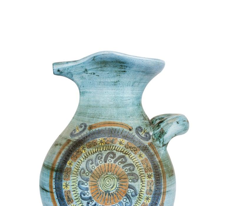 French Jean de Lespinasse Vase in Ceramics, France, 1950s For Sale