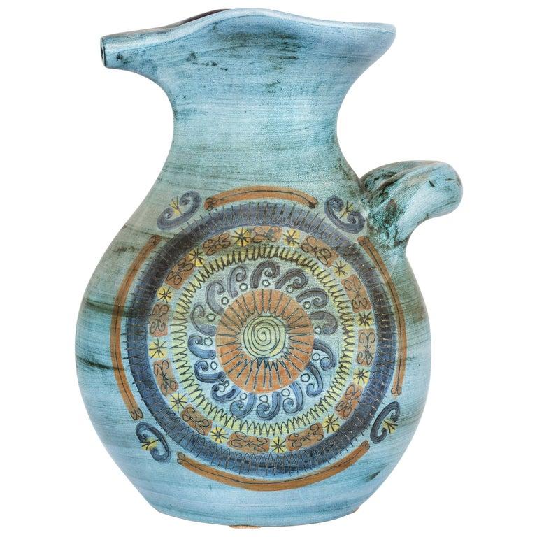 Jean de Lespinasse Vase in Ceramics, France, 1950s For Sale