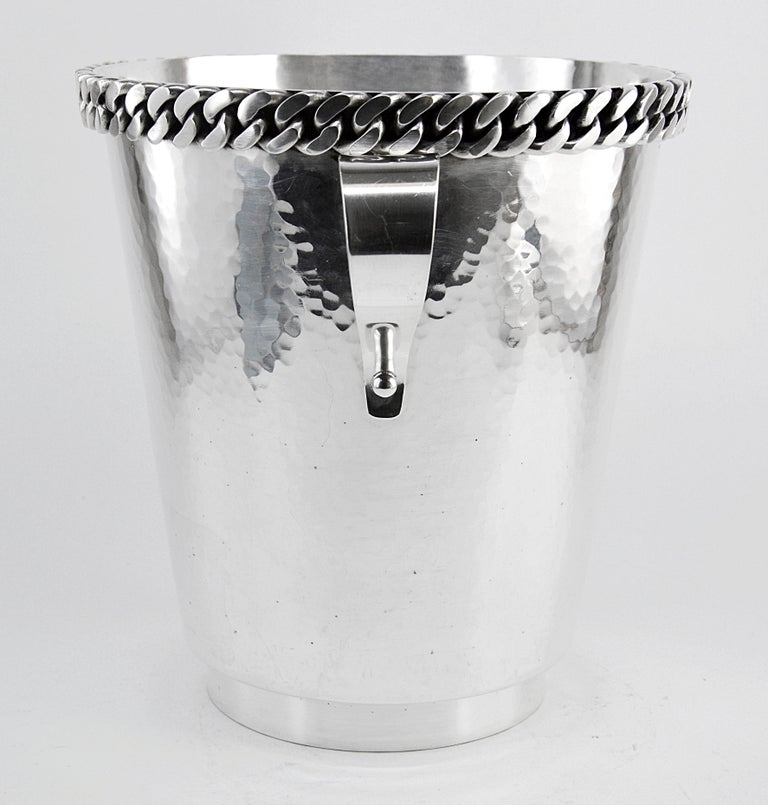 Modern Jean Despres Champagne Bucket, 1950 For Sale