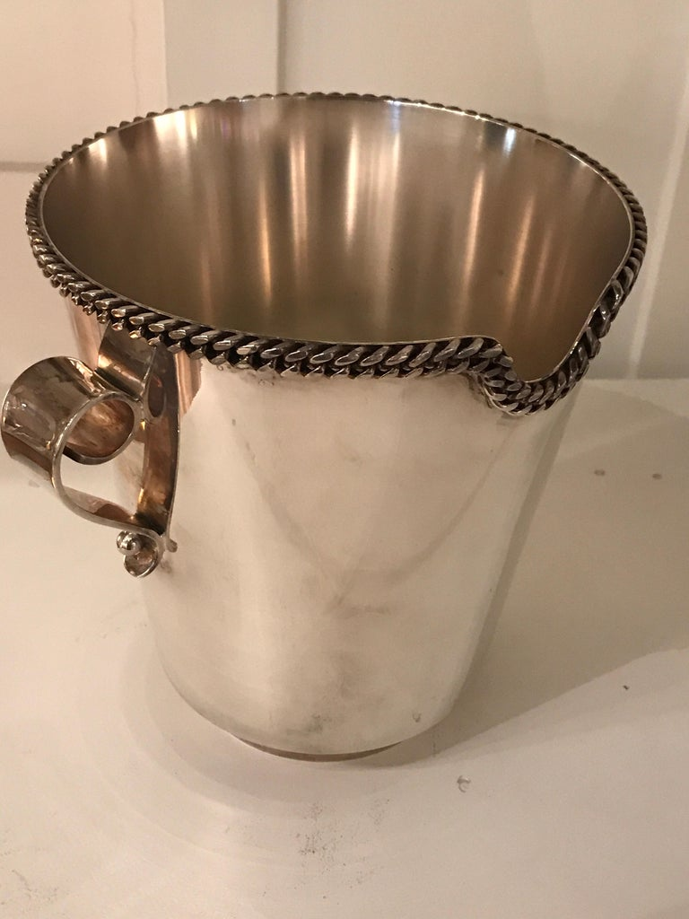 Jean Despres Champagne Bucket In Good Condition In Saint-Ouen, FR
