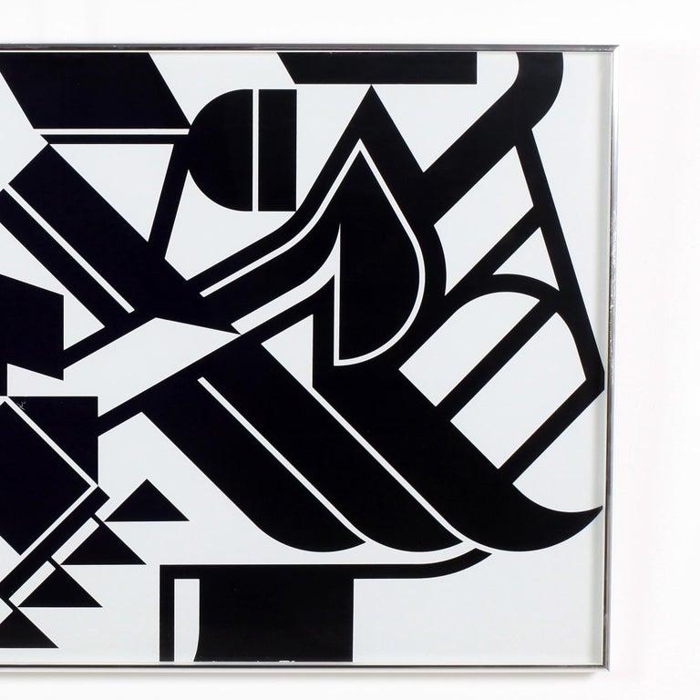 Post-Modern Jean Dewasne Serigraph For Sale