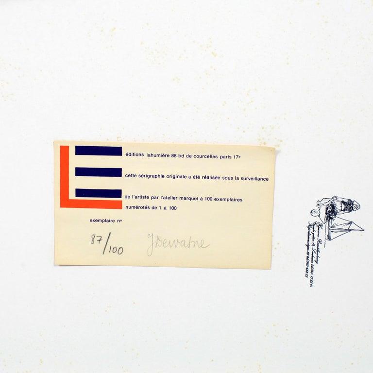 Jean Dewasne Serigraph In Good Condition For Sale In Versailles, FR