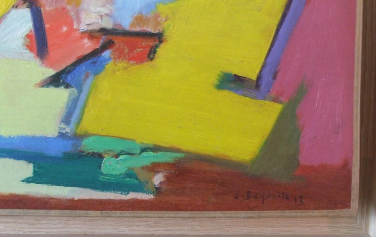composition I - Painting by Jean Deyrolle