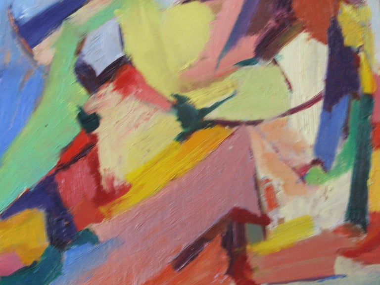 composition I - Abstract Painting by Jean Deyrolle
