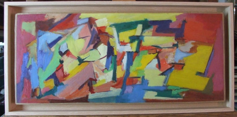 Jean Deyrolle Abstract Painting - composition I