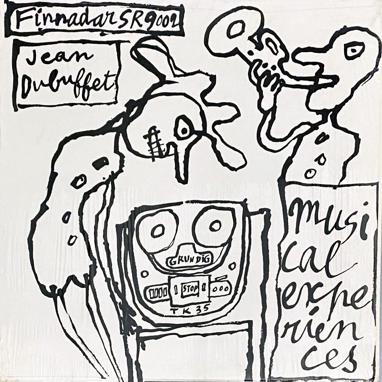 Jean Dubuffet Musical Experiences (Jean Dubuffet record art)