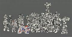 1974 Jean Dubuffet 'Le Libre Echange' Serigraph
