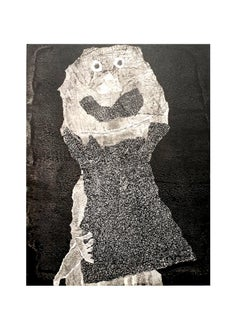 after Jean Dubuffet - Man - Pochoir