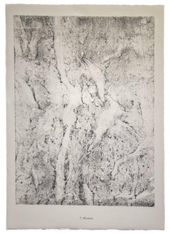 Alluvions - Original Lithograph by Jean Dubuffet - 1959