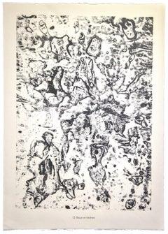 Boue et rovines - Original Lithograph by Jean Dubuff - 1959