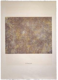 Champ Muet - Original Lithograph by Jean Dubuffet - 1959