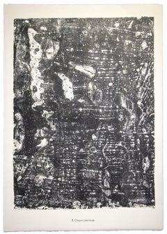 Crique Pierrense - Original Lithograph by Jean Dubuffet - 1959