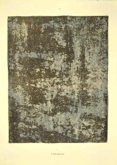 Décrépitude - Original Lithograph by Jean Dubuffet - 1959
