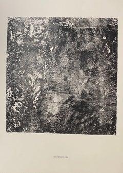 Element Ride - Original Lithograph by Jean Dubuffet - 1959
