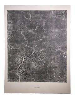 Failles - Original Lithograph by Jean Dubuffet - 1959