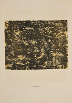 Fantasmes - Original Lithograph by Jean Dubuffet - 1959