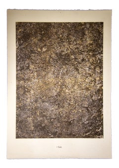 Faste - Original Lithograph by Jean Dubuffet - 1959