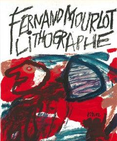 Fernand Mourlot Lithographe - Original Lithograph after J. Dubuffet - 1982