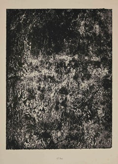 Feu - Original Lithograph by Jean Dubuffet - 1959