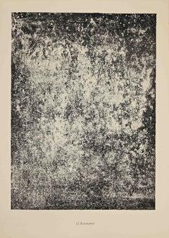 Illumination - Original Lithograph by Jean Dubuffet - 1959
