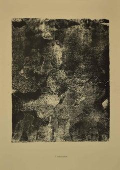 Imbrication - Original Lithograph by Jean Dubuffet - 1959