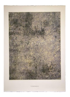 Impermanence - Original Lithograph by Jean Dubuffet - 1961
