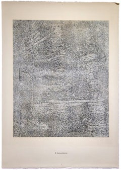 Insouciance - From Spectacles - Original Lithograph by Jean Dubuffet - 1961