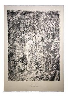 Jardin de terre - Original Lithograph by Jean Dubuffet - 1959