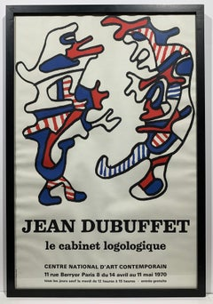 Jean Dubuffet 1970 Exhibition Poster