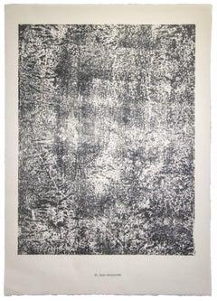 Joie Innocente - Original Lithograph by Jean Dubuffet - 1959
