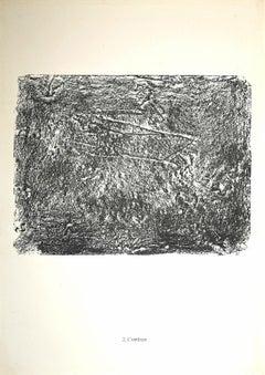 L'Antilope - Original Lithograph by Jean Dubuffet - 1959