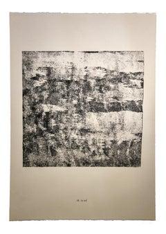 Le Sol - Original Lithograph by Jean Dubuffet - 1959