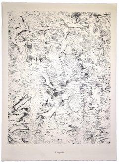Legende - Original Lithograph by Jean Dubuffet - 1959