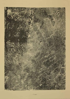 Lepre - Original Lithograph by Jean Dubuffet - 1959