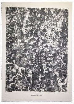 Les Fruits de la Terre - Original Lithograph by Jean Dubuffet - 1959