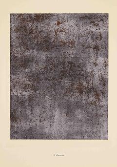 Menaces - Original Lithograph by Jean Dubuffet - 1959