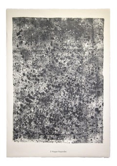 Nappe Léopardée - From Sols, Terre - Original Lithograph by Jean Dubuffet - 1959