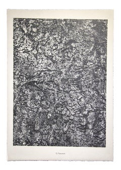 Parcours - From Sols, Terres - Original Lithograph by Jean Dubuffet - 1959