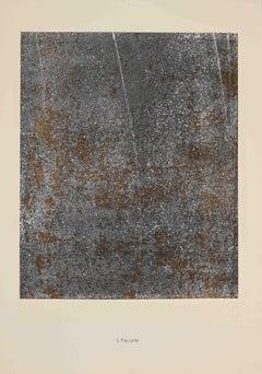 Précarité - Original Lithograph by Jean Dubuffet - 1959