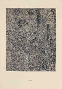 Recits - Original Lithograph by Jean Dubuffet - 1959