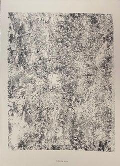 Riche Terre - Original Lithograph by Jean Dubuffet - 1959