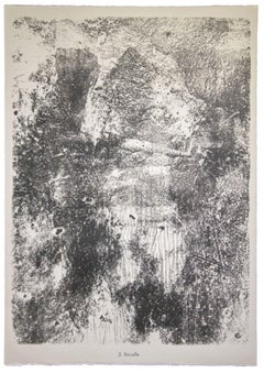 Rocaille - Original Lithograph by Jean Dubuffet - 1959