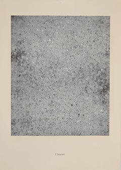 Sérénite - Original Lithograph by Jean Dubuffet - 1959