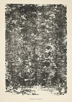 Situation Temporaire - Original Lithograph by Jean Dubuffet - 1959