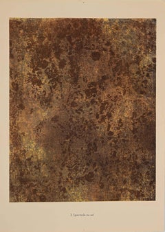 Spectacle au Sol - Original Lithograph by Jean Dubuffet - 1959